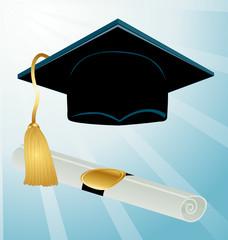 Diploma graduation.