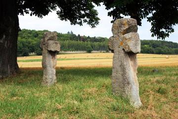 Sühnekreuze bei Tonndorf im Landkreis Weimar