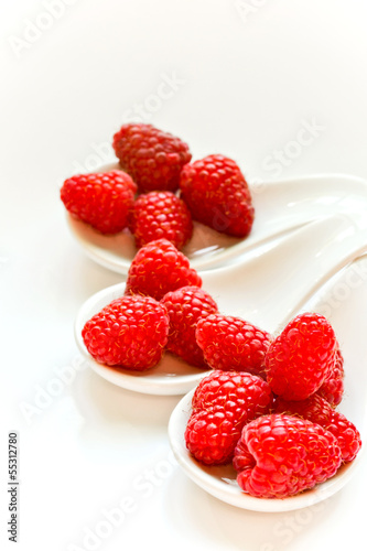 Snack from raspberry