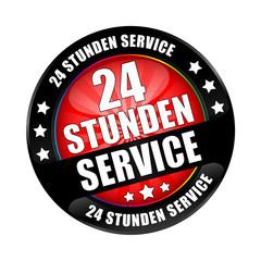 Bügel Button Black 24 Stunden Service