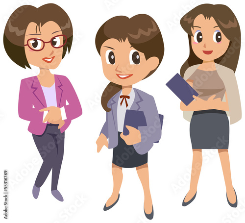Office lady - team