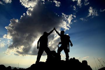 climb to the peak of success