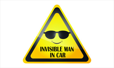 Car Decal. The Invisible Man