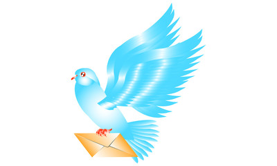 Image. Carrier Pigeon. E-mail