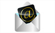 Image. Golden E-Mail Symbol