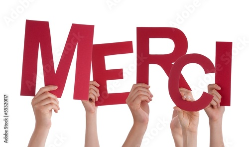 Hands Holding Merci