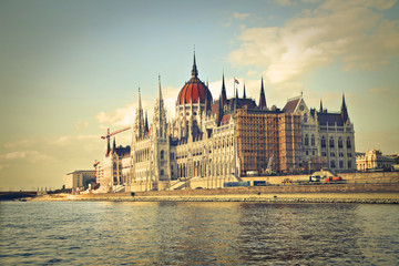 The Parliament from Danube