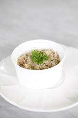 rice with herb