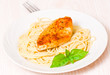 chicken breast with pasta