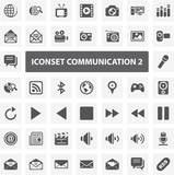 Website Iconset - Communication II 44 Basic Icons