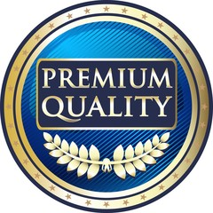 Premium Award In Blue