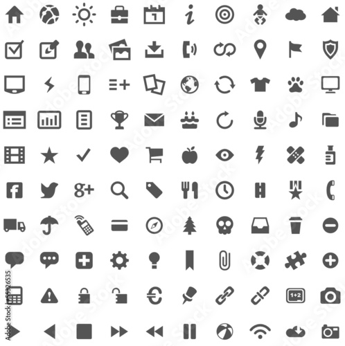 Simple and perfect - Website Iconset