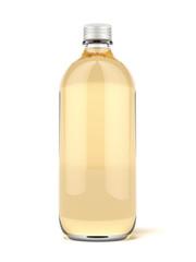 Brown glass beer bottle