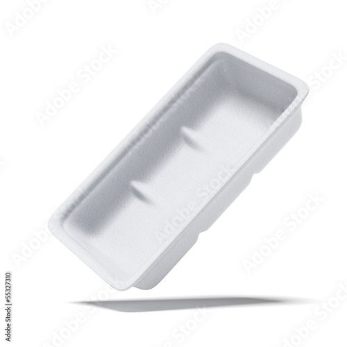 rectangle shape Styrofoam food tray