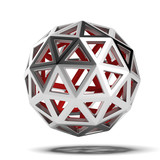 Abstract 3d sphere - 55328162