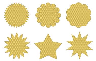 Weißgold Badgets