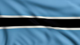 Flag of Botswana looping