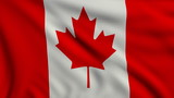 Flag of Canada looping
