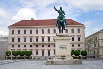Der Wittelsbacherpaltz in München