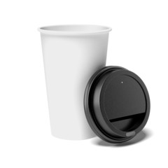 opened coffee cup