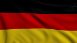 Flag of Germany looping