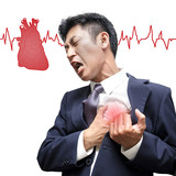 Businessman Heart Attack in Isolated