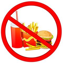 Fast food danger label