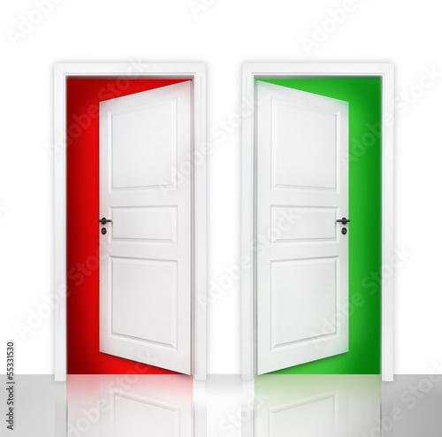 Rot oder Grün
