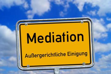 Schild - Mediation