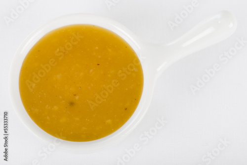 Mango Chutney Dip - Bowl of mango and spices dipping sauce.
