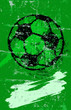 soccer / football Illustration, free copy space