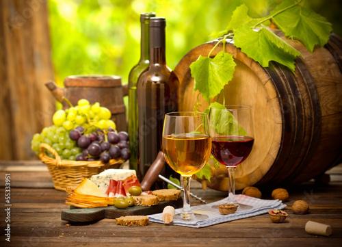 Wine and cheese © pilipphoto