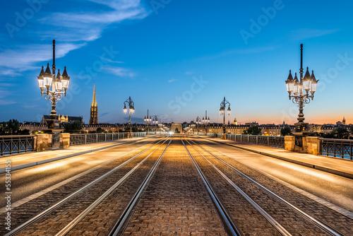 Plexiglas Brug Bordeaux - Pont de Pierre
