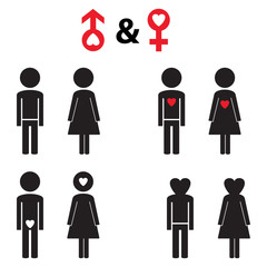 Couple pictogram