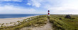 canvas print picture - Sylt am Strand Panorama