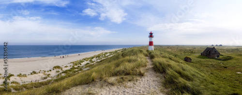 canvas print picture Sylt am Strand Panorama