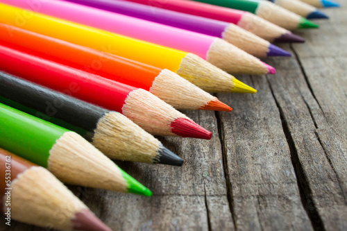 Colorful Wooden Pencil