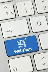 Webshop keyboard