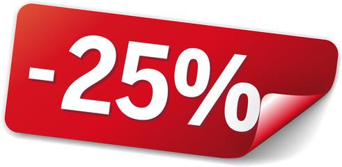 sticker rot -25%