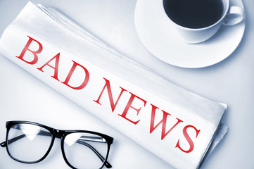Bad News word