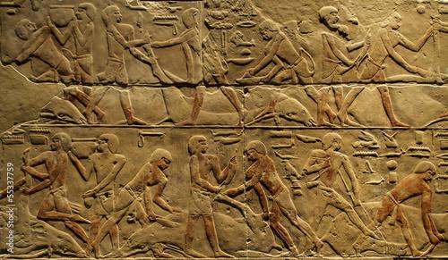 Poster Egypte Hieroglyphics
