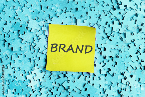 Brand word