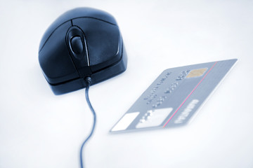 Mouse with card payment