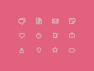 Stroke Web Icon