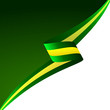 Abstract color vector background Brazilian flag