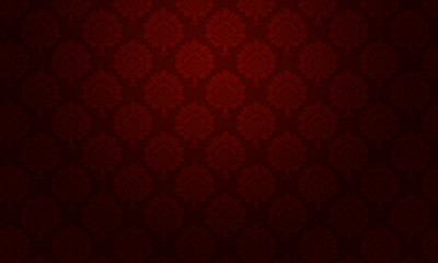 background baroque floral rouge