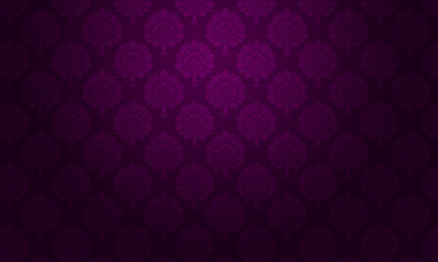 background baroque floral violet