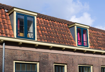roof with dormers