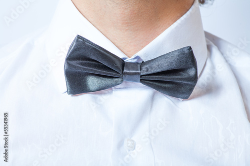 the bow tie closeup