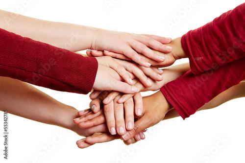 Motivation und Hilfe durch viele Hände